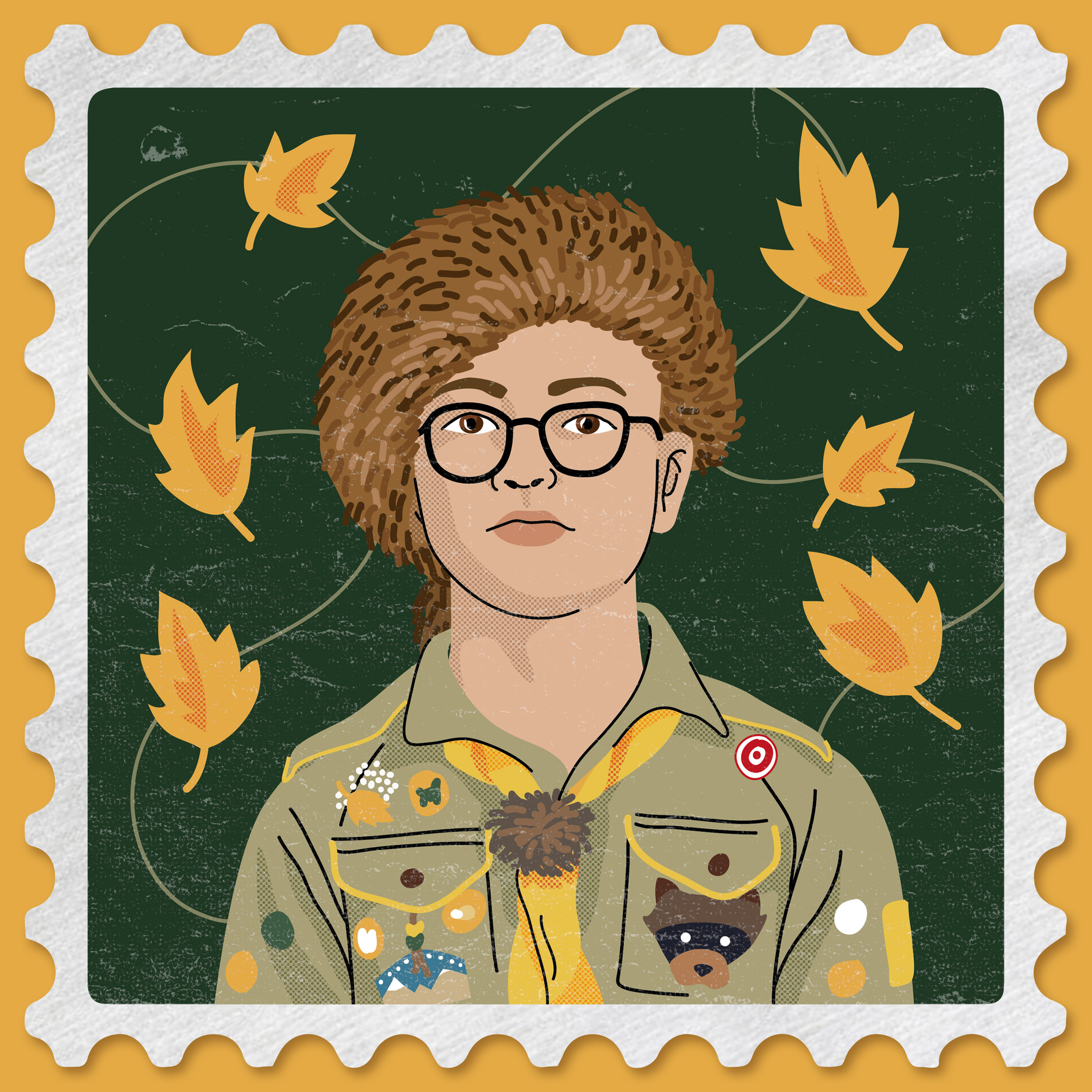 Portrait de Sam, Moonrise Kingdom